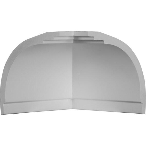 """4 3/4""""P x 4 1/4""""H Inside Corner for Moulding MLD04X04X06BR (4-Pack)"""