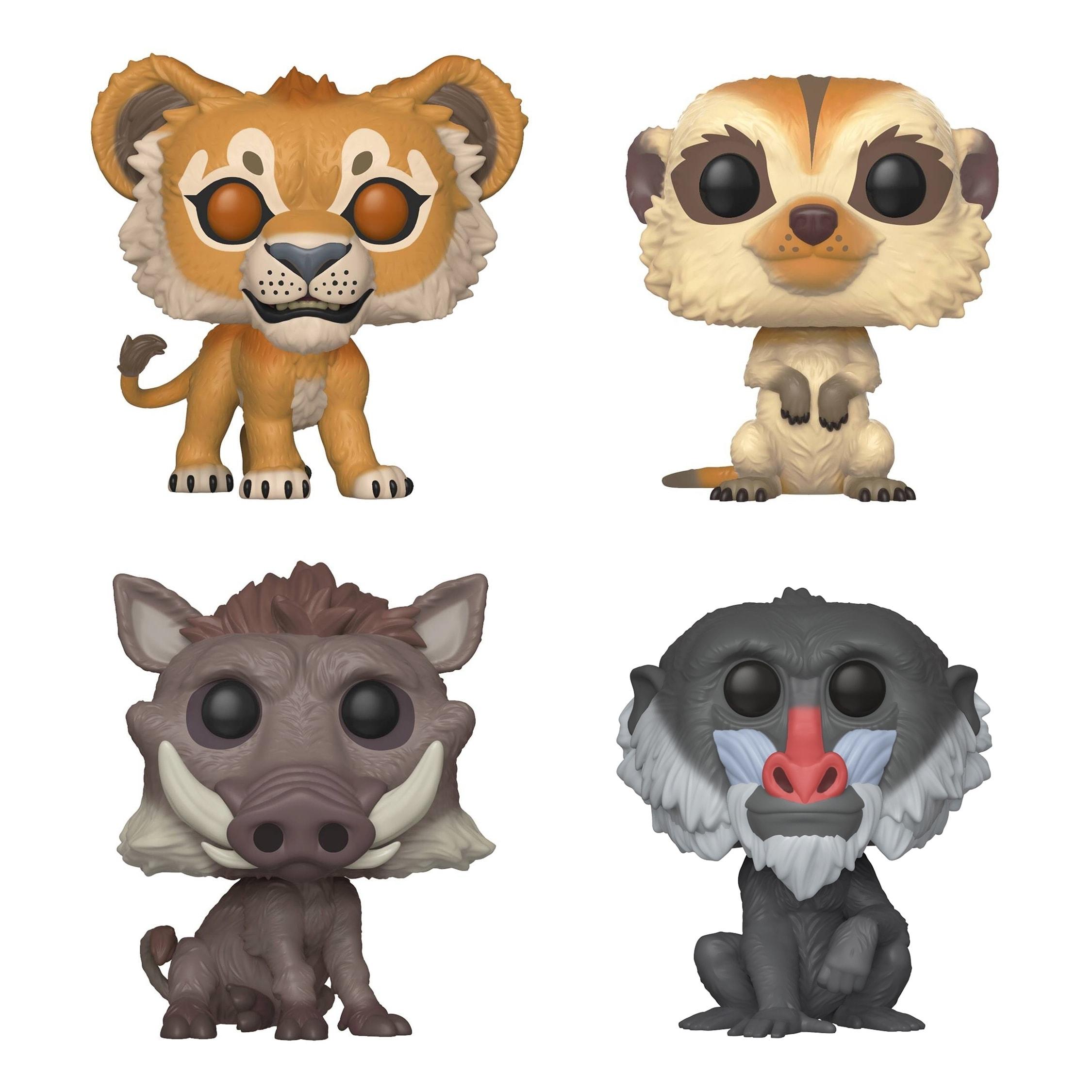 Disney Timon Pumbaa Figure Collector Pack Park Series 2 Lion King Disneykin 2003
