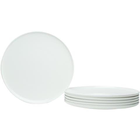Christopher Knight Collection Simplicity Round Coupe Dinner Plates Set of 6 - N/A