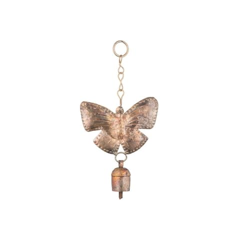 Handmade Butterfly Bell (India)