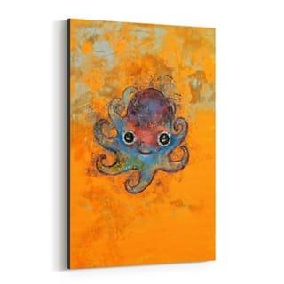 Noir Gallery Octopus Animal Children's Room Canvas Wall Art Print