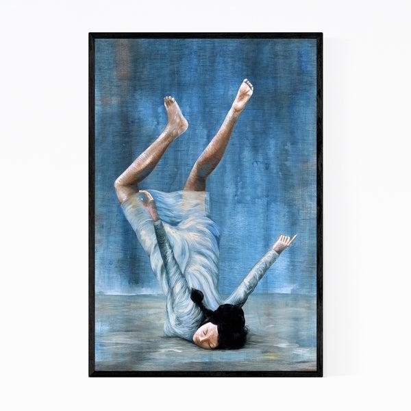 Noir Gallery Feminine Figurative Painting Framed Art Print