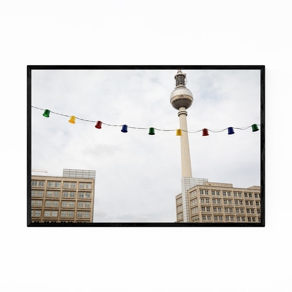 Noir Gallery Berlin TV Tower Germany Urban Framed Art Print