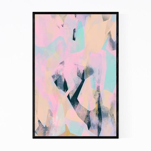 Noir Gallery Abstract Modern Geometric Framed Art Print