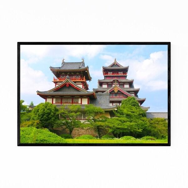 Noir Gallery Fushimi Momoyama Castle Kyoto Framed Art Print