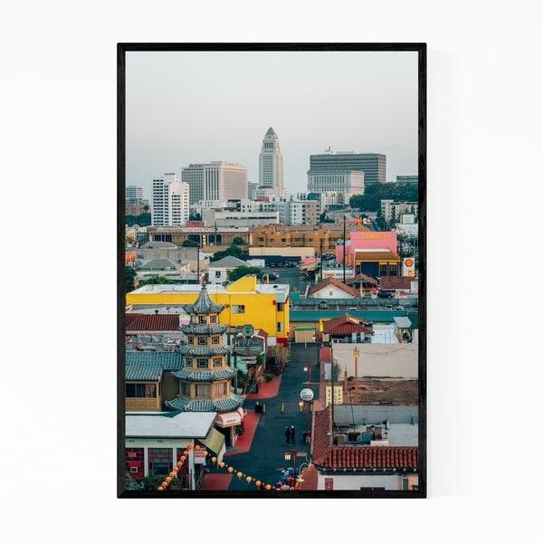 Noir Gallery Chinatown Los Angeles California Framed Art Print