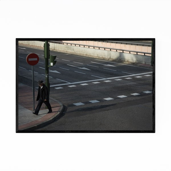 Noir Gallery Urban Street People Photography Framed Art Print