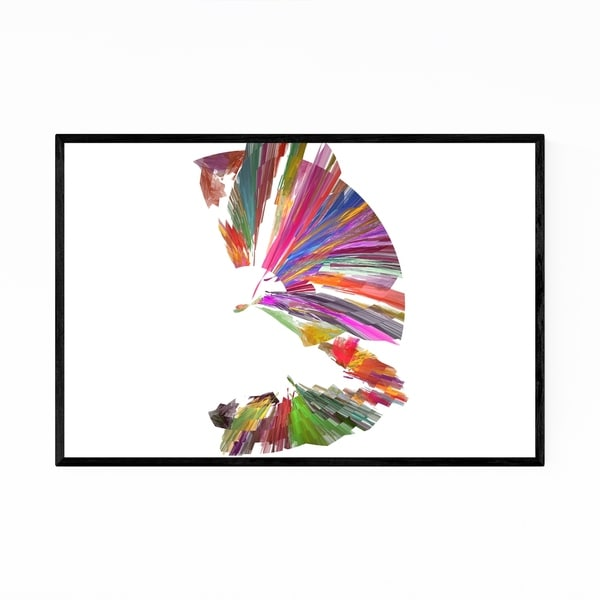 Noir Gallery Abstract Colorful Nature Design Framed Art Print