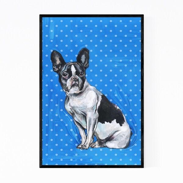 Noir Gallery French Bulldog Pet Animal Framed Art Print