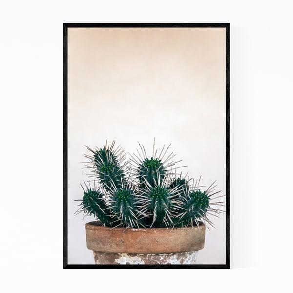 Noir Gallery Cactus Floral Botanical Plant Framed Art Print