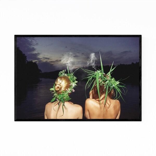 Noir Gallery Feminine Nature Smoking Framed Art Print
