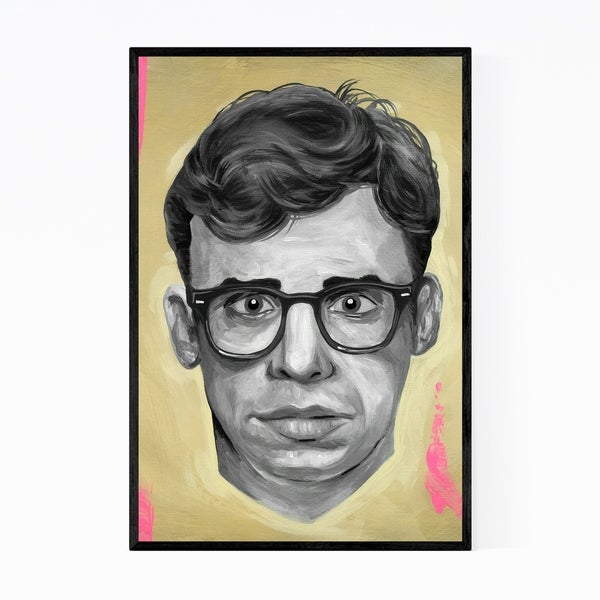 Noir Gallery Rick Moranis Actor Portrait Framed Art Print