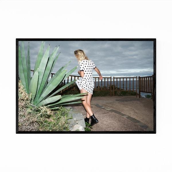 Noir Gallery Feminine Fashion Nature Framed Art Print