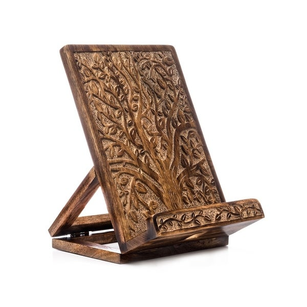 Handmade Aranyani Tablet and Book Stand (India)
