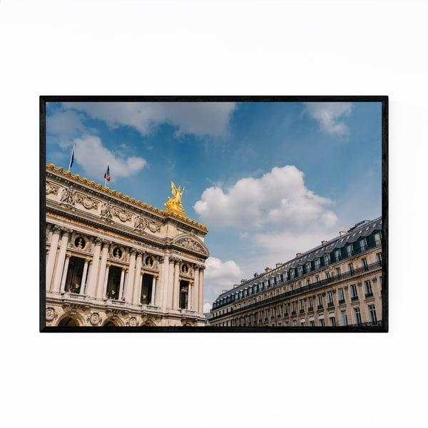 Noir Gallery Paris Opera Architecture Photo Framed Art Print