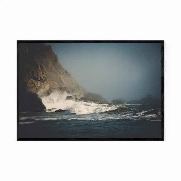Noir Gallery Pfeiffer Beach Big Sur California Framed Art Print