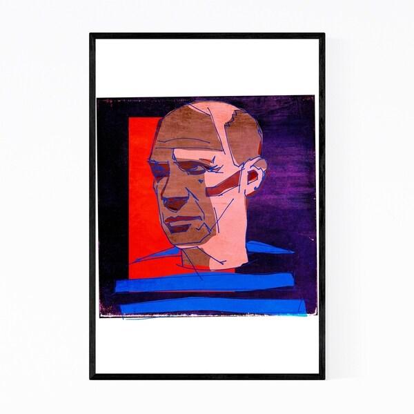 Noir Gallery Pablo Picasso Figurative Portrait Framed Art Print
