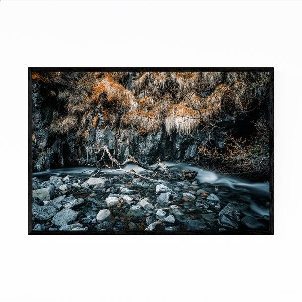 Noir Gallery Skaftafell Iceland River Nature Framed Art Print