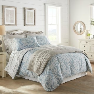 Stone Cottage Camden Blue Sateen Cotton Comforter Set