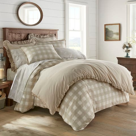 Stone Cottage Braxton Beige Cotton Comforter Set