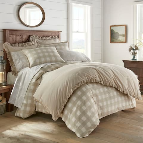 Stone Cottage Braxton Cotton Duvet Cover Set Full - Queen Size - Braxton (As Is Item)