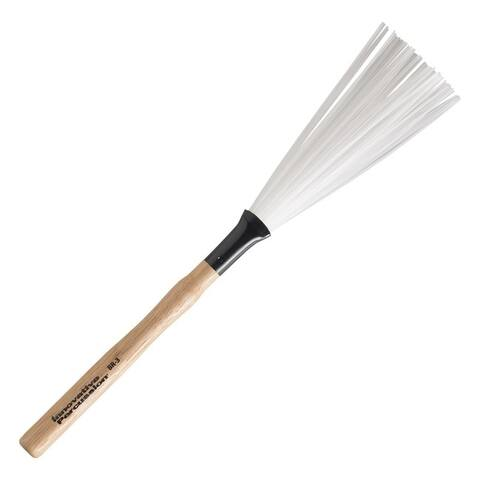 Innovative Percussion BR-3 Medium Wood Handle Retractable Brushes