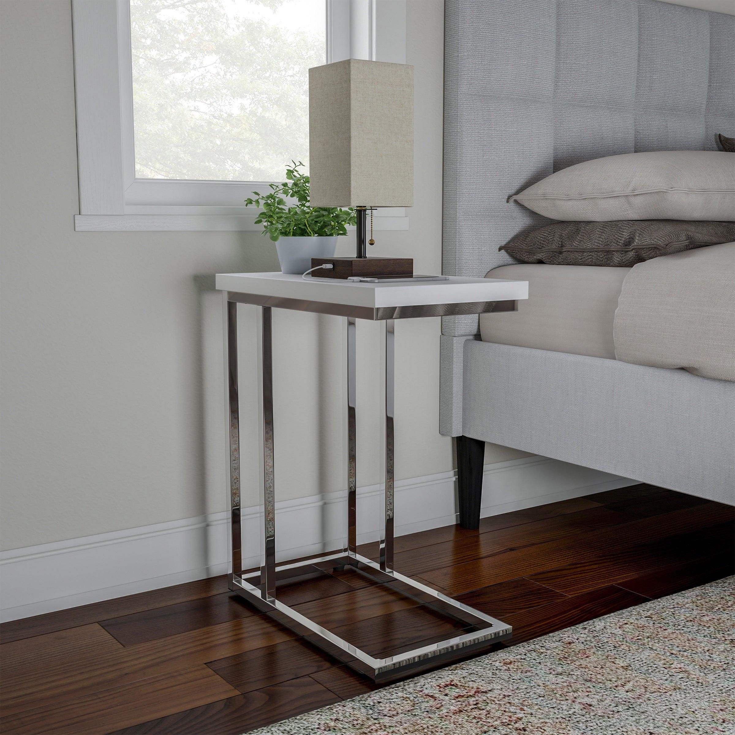 Sofa Side Table C Shaped