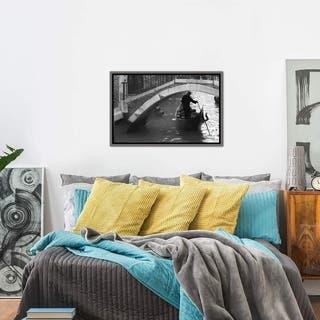 """iCanvas """"Venice, Italy"""" Framed Canvas Print"""