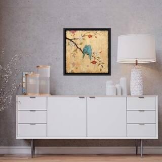 """iCanvas """"Love Birds II"""" by Katy Frances Framed Canvas Print"""