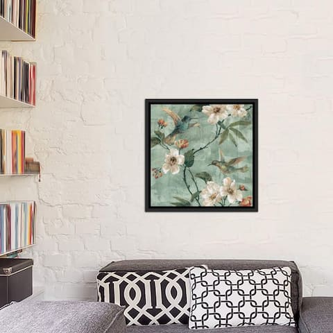 "iCanvas ""Birds of A Feather II"" by Renee Campbell Framed Canvas Print"