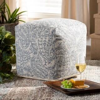 Juvita Modern and Contemporary Handwoven Pouf Ottoman