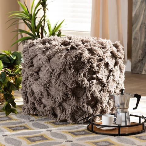 The Curated Nomad Wit Moroccan-inspired Pouf Ottoman