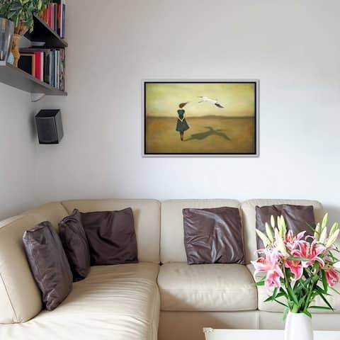"iCanvas ""Eggscapism"" by Duy Huynh Framed Canvas Print"