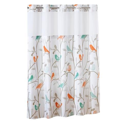 Porch & Den Knoll Bird Shower Curtain with Peva Liner
