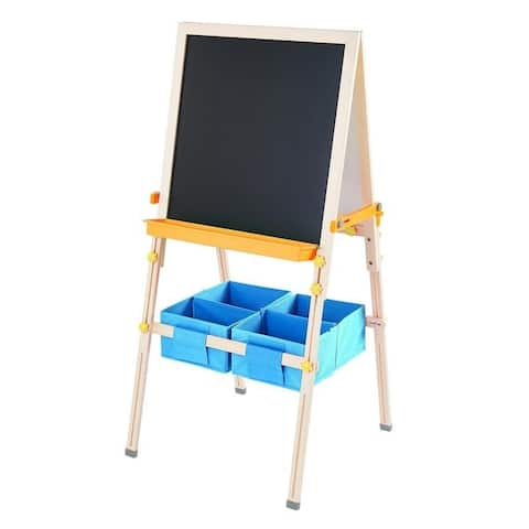 Teamson Kids - Little Artist Vangogh Kids Easels - Wood / Green