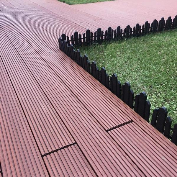 Shop Recycled Plastic Resin Decorative Border Garden Edging