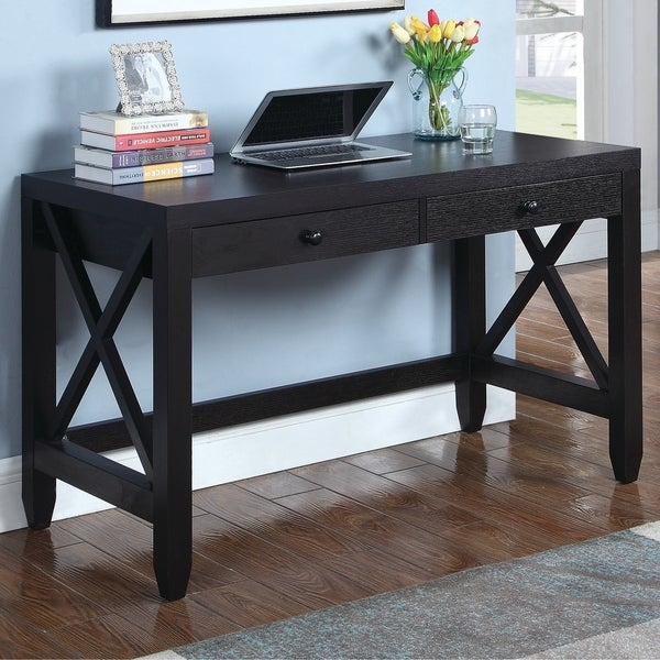 Meder Transitional Cappuccino Writing Desk
