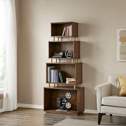 Madison Park Norada Meteora Bookcase