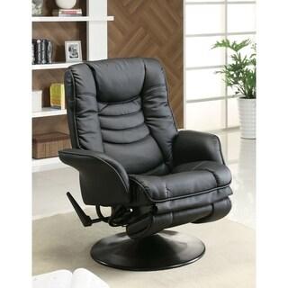 Livia Casual Black Swivel Chair