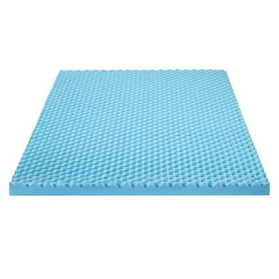 Sleeplanner 1.5 Inch I Gel Memory foam Air Flow Topper