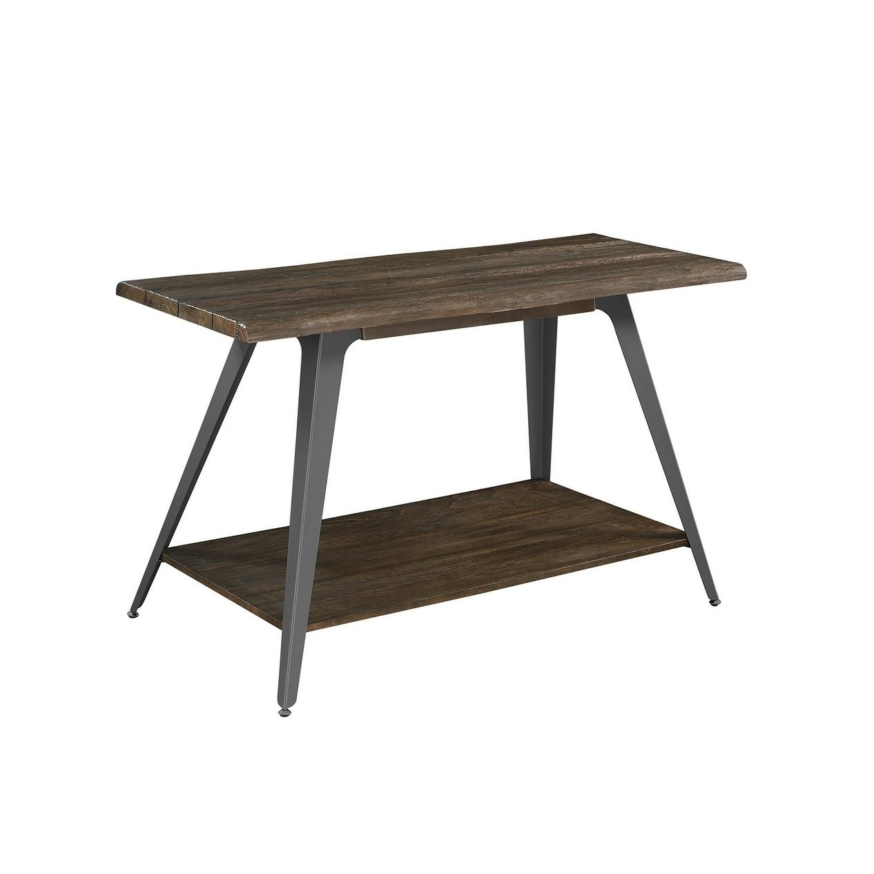 Proctor Wood And Metal Sofa Table On Sale Overstock 28730672