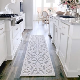 """My Texas House by Orian Indoor/Outdoor Lady Bird Natural Runner Rug - 1'11"""" x 7'6"""""""
