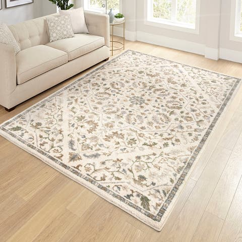 Orian Rugs Reflections Creswell Off-White