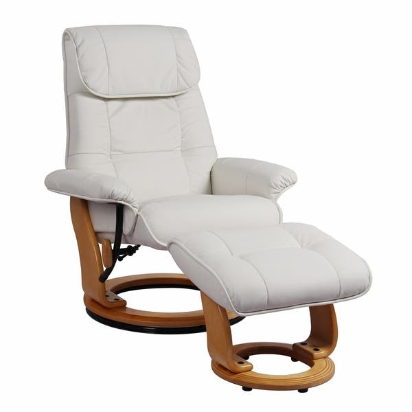 Fine Shop Cecil Top Grain Leather Recliner And Ottoman On Sale Pdpeps Interior Chair Design Pdpepsorg