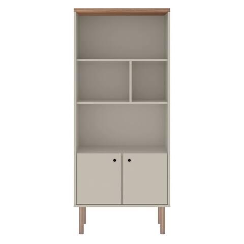 Windsor Modern Display 5 Shelf Bookcase Cabinet