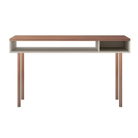 Windsor Modern 2 Shelf Console Accent Entryway Table