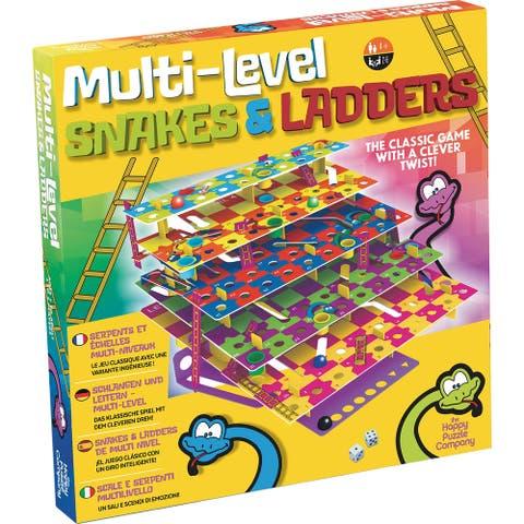 Happy Puzzle Games - Multi-Level Snakes & Ladders