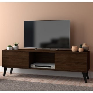 Link to Carson Carrington Takajarvi Mid-century Modern TV Stand Similar Items in TV Stands & Entertainment Centers
