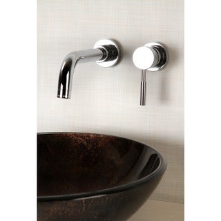 Concord Wall-mount Chrome Vessel Faucet