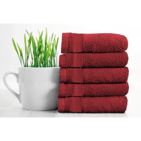"Adrein Lewis- 5 pk Egyptian Cotton Hand Towels - 16""×30"""